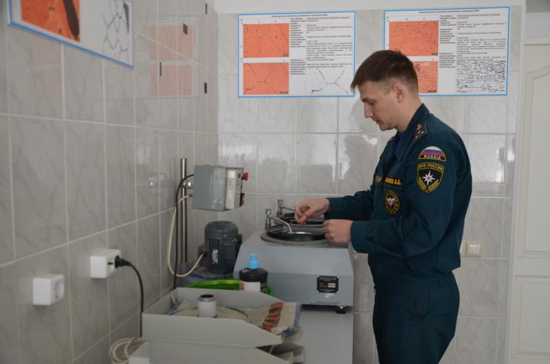 76 лет назад в Екатеринбурге была создана испытательная пожарная лаборатория