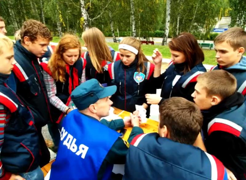 В Свердловской области выбрали лучшую дружину юных пожарных