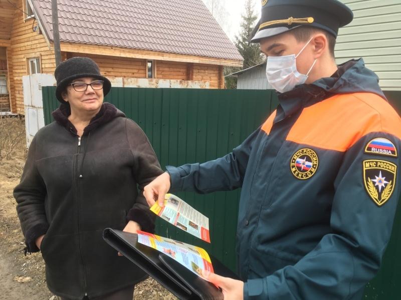 Сотрудники МЧС предупреждают садоводов о начале пожароопасного сезонa