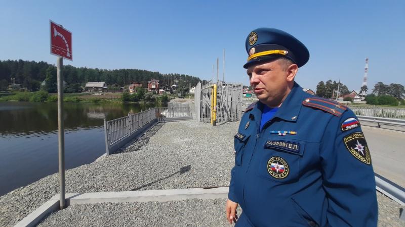 Свердловские спасатели проверяют готовность населенных пунктов противостоять лесным пожарам (ФОТО, ВИДЕО, СИНХРОН)