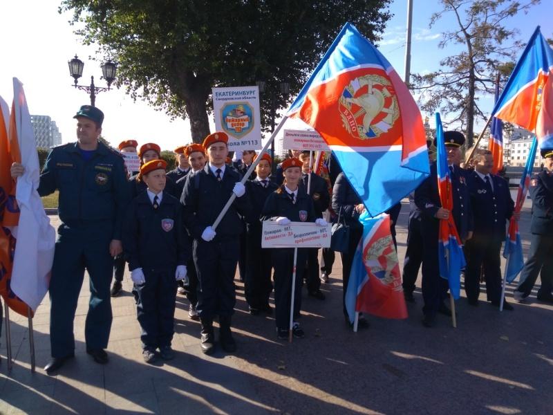Юные пожарные из Екатеринбурга стали лучшими в Уральском Федеральном округе